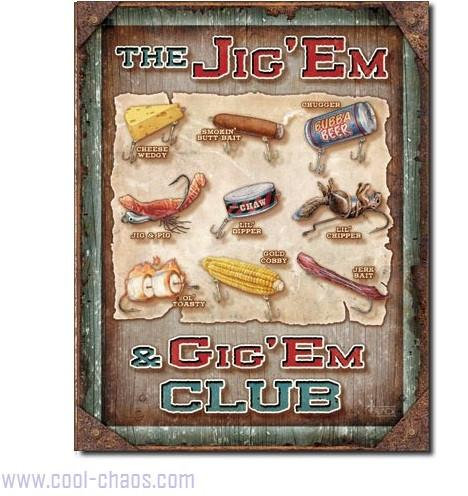 Jiggers Fisherman Sign