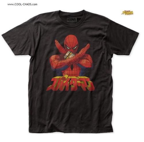 Japan Spider-Man T-Shirt / Marvel Comics Spiderman Shirt / Tee