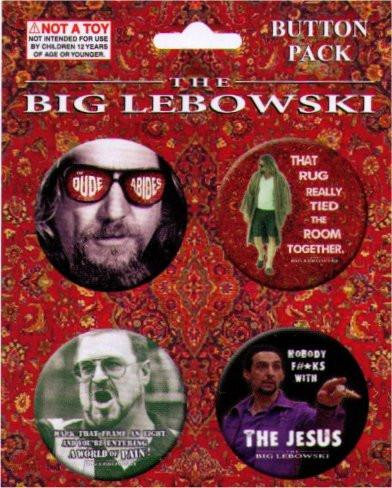 The Big Lebowski Movie Buttons Pack