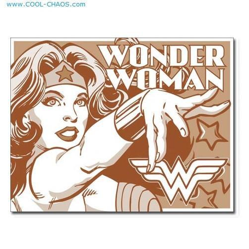 Sephia Wonder Woman Sign