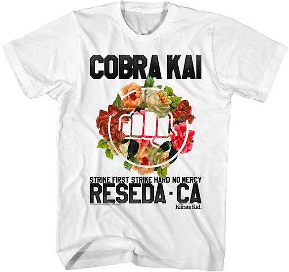 COBRA KAI T-Shirt / Karate Kid Cobra Kai Reseda, CA No Mercy Tee