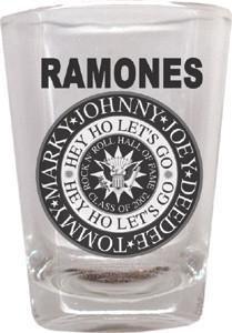 The Ramones Shot Glass