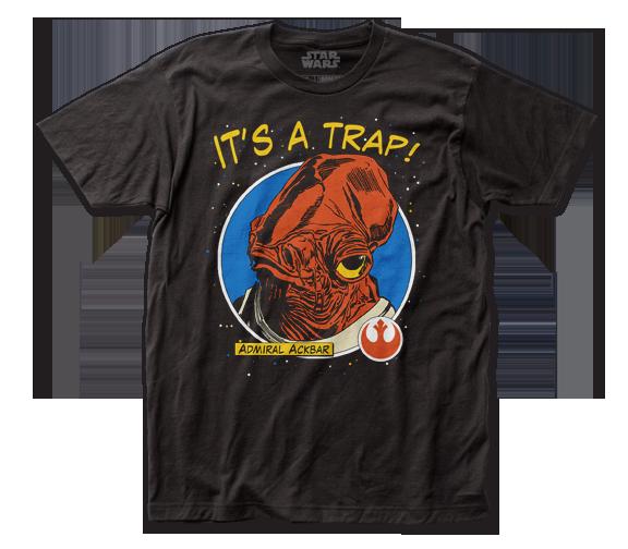 STAR WARS T-SHIRT / 'It's a Trap' Admiral STAR WARS MOVIE TEE