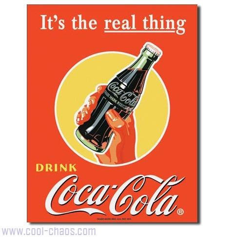 It's the Real Thing! Coca-Cola Sign