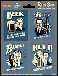 Beer Sex Beer Sticker