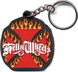 Hell on Wheels Keychain