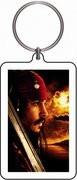 Pirates of the Carribean Keychain #2 Captain Jack Sparrow