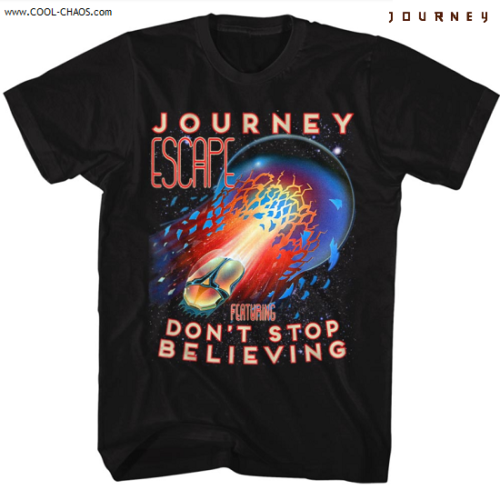 Journey Don't Stop Believin' T-Shirt / Official Journey Tee