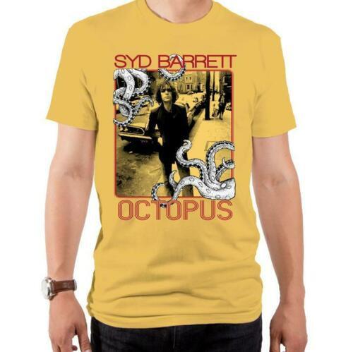 Syd Barrett T-Shirt / Syd Barrett OCTOPUS Album Rock Tee
