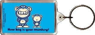 How big is your Monkey Keychain