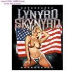 Hot Chick Blonde Lynyrd Skynyrd Sticker