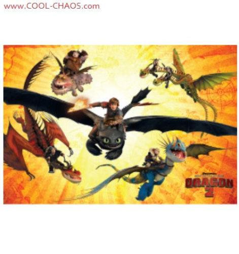 How to Train Your Dragon 2 Magnet -Dragons+Riders