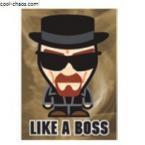 Chibi Heisenberg Magnet-Like a Boss Magnet