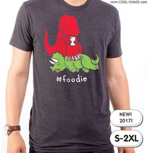 T-Rex Foodie T-Shirt / Funny T-Rex Tee