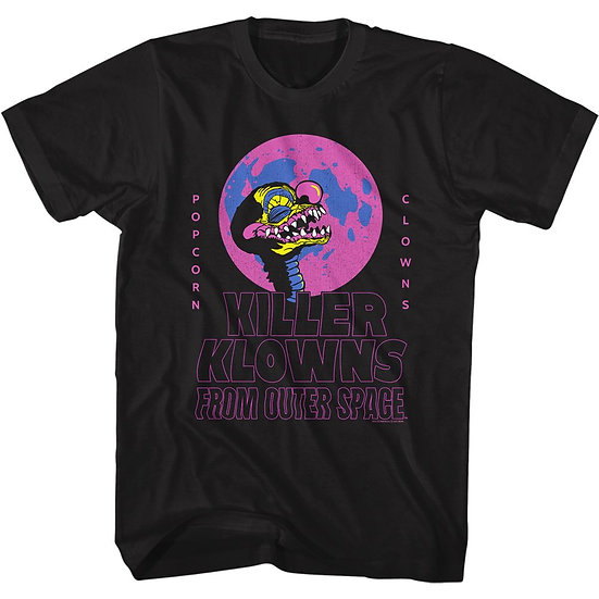 Killer Klowns from Outer Space T-Shirt / Popcorn & Klowns