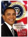 President Obama 44th President Collectors Magnet