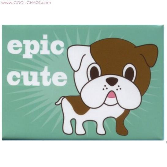 Epic Cute Bulldog Magnet
