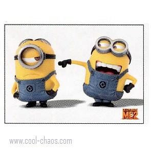 Laughing Minion Magnet