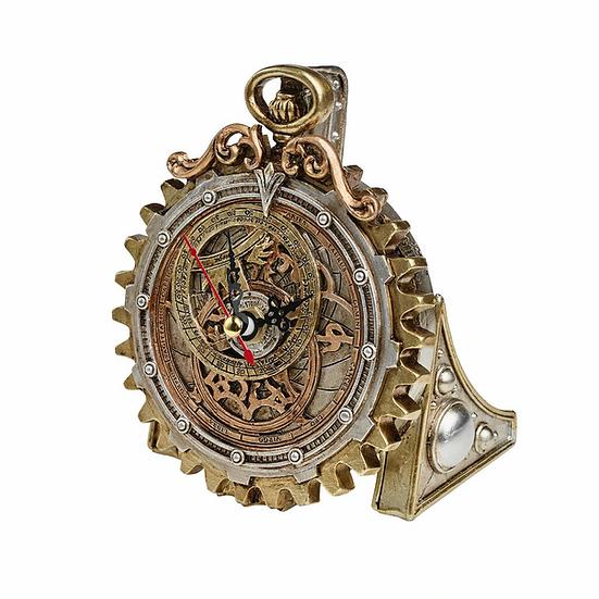 Anguistralobe Steampunk Desk Clock