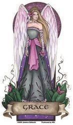 Grace Angel Sticker