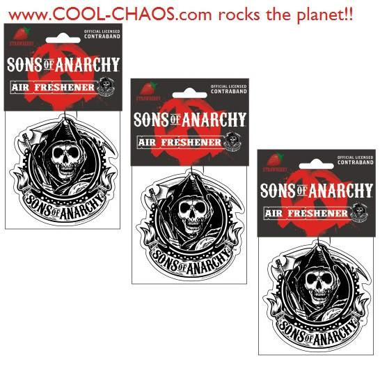 Sons of Anarchy Air Fresheners Set