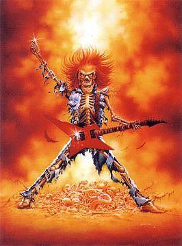 Hellraiser Reaper Sticker