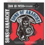 Logo Reaper Sons of Anarchy Patch