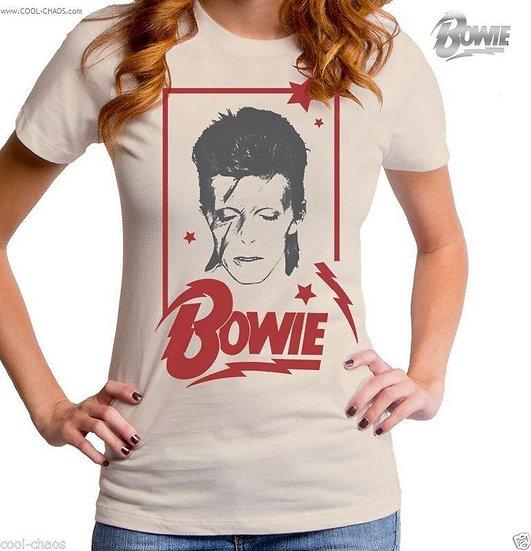 David Bowie T-Shirt / Aladdin Bowie Retro Rock Tee / Juniors tee