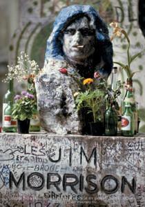 Paris Tribute Statue Jim Morrison Sticker