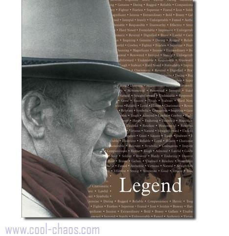 Legend John Wayne Sign