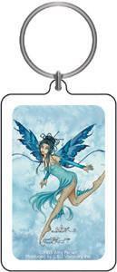 Aqua Blue Fairy Keychain