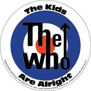Round Mod The Who Sticker