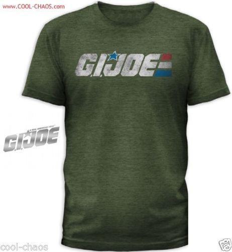 Retro-Style G.I. Joe T-Shirt Men's Tee S/M/L/XL/2X