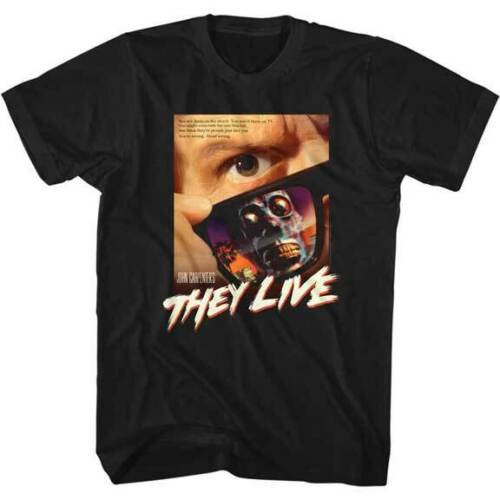 THEY LIVE T-SHIRT / Alien Politician They Live Tee