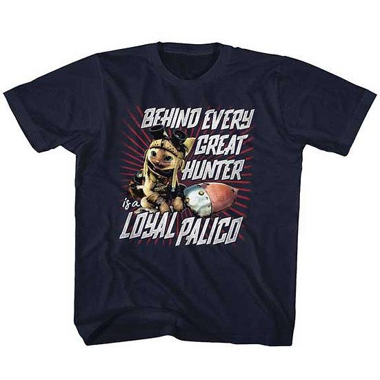 Monster Hunter T-Shirt / Loyal Palico Monster Hunter Video Game Kids Tee