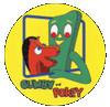 Gumby and Pokey Button