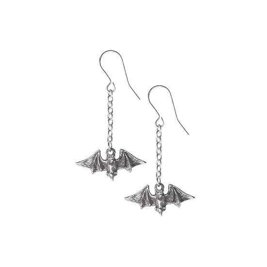 Kiss the Night Vampire Bat Earrings