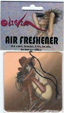 Sexy Cowgirl Air Freshener