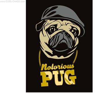Notorious Pug Magnet