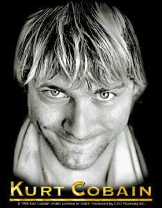 Kurt Cobain Tribute Rock Sticker