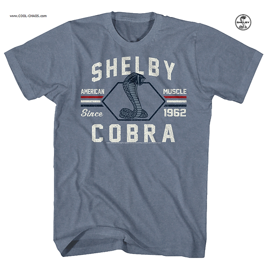 Carroll Shelby T-Shirt / American Muscle Since 1962 Shelby Cobra Tee