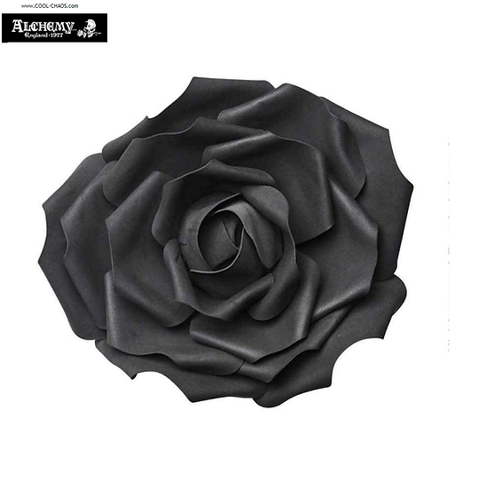 Large Black Rose Decoration Gothic Dark Romance Wedding,Halloween