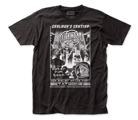STAR WARS T-SHIRT / STAR WARS Chalmun's Cantina Tatooine Tee