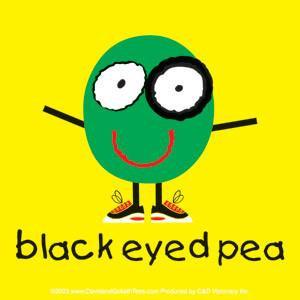 Black Eyed Pea Sticker