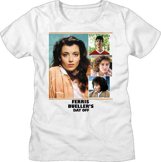 Ferris Bueller's Day Off T-Shirt / 80s Cast Movie Juniors Tee