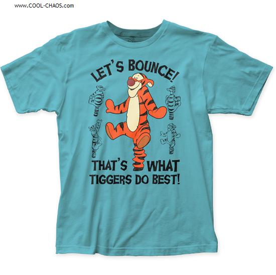 Disney's Tigger T-Shirt / 'Let's Bounce! Tigger Tee
