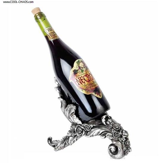 Ornate Gothic Wine Holder / Gothic Wedding Gift