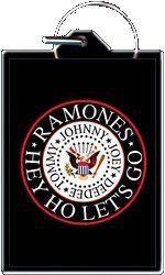 Hey Ho Lets Go! The Ramones Keychain