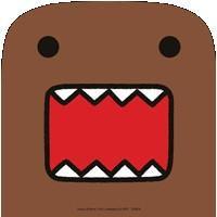 Domo-Kun Sticker #2 Domo Face