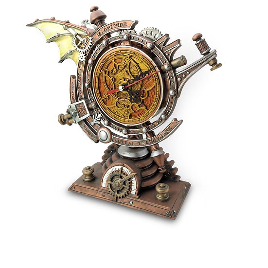 Steampunk Desk Clock